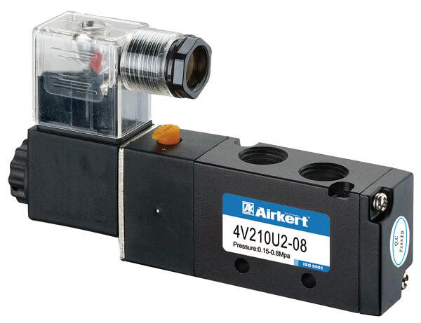 4V210 pneumatic directional solenoid valves