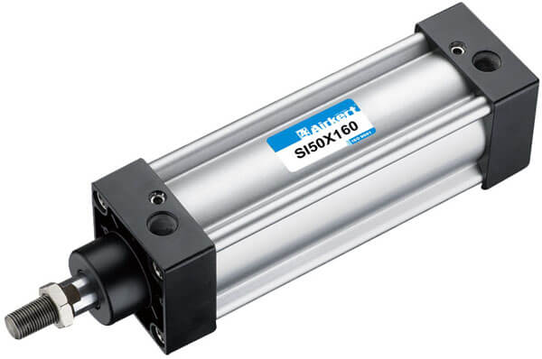 SI ISO 6431 pneumatic cylinder