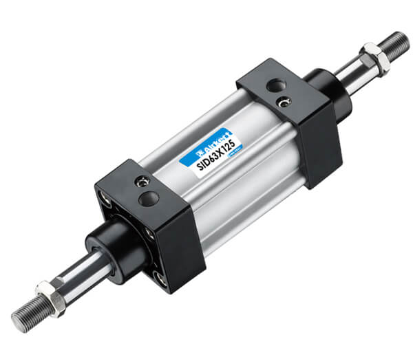 SI double shaft ISO 6431 air cylinder