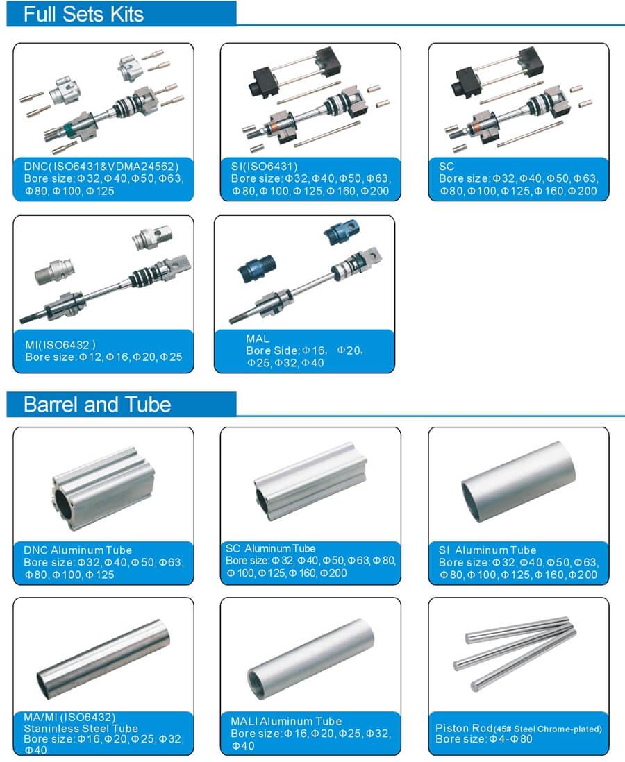 cylinder tube barrel